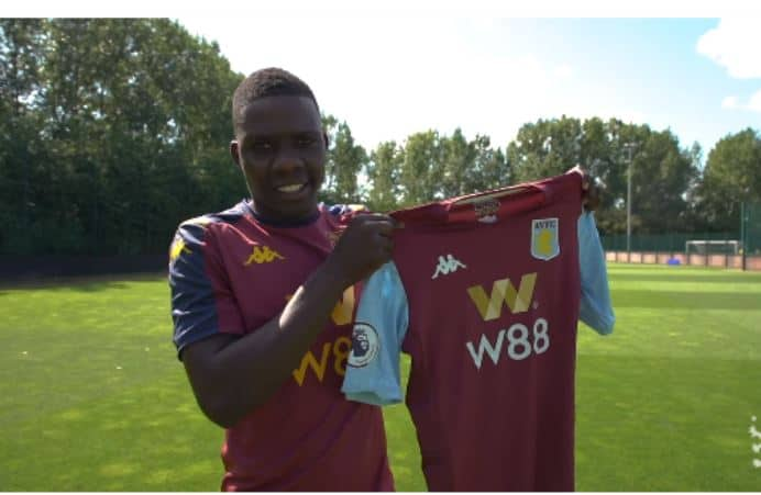 Aston Villa slams fans' racist song targeting Nakamba