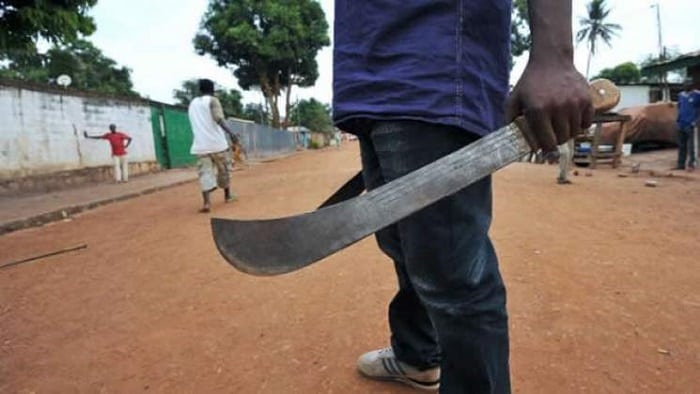 Machete thugs gang rape wife as hubby watches