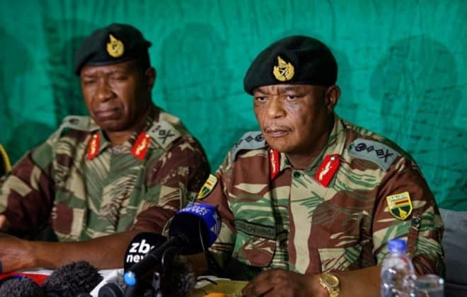 Mnangagwa demands US$10 Million, Immunity, Zimbabwe military chiefs say he must resign NOW