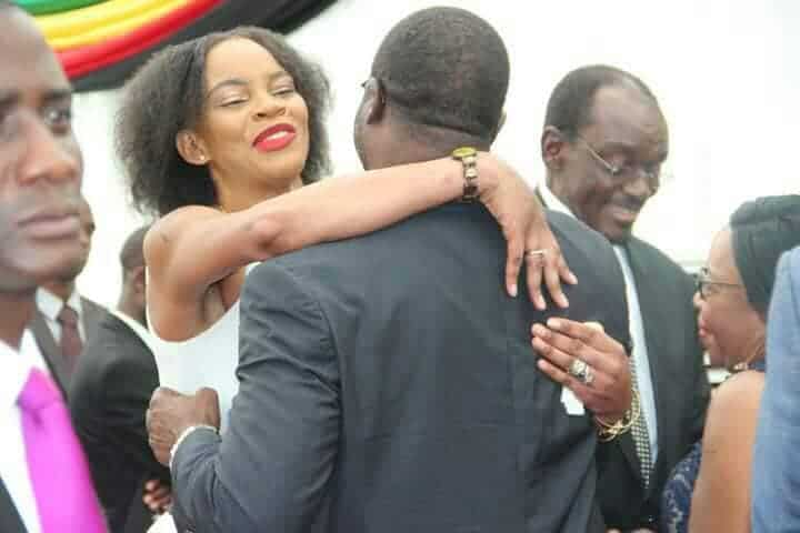 Chiwenga's wife Mary was cheating with a Congolese man, Her hairdresser?