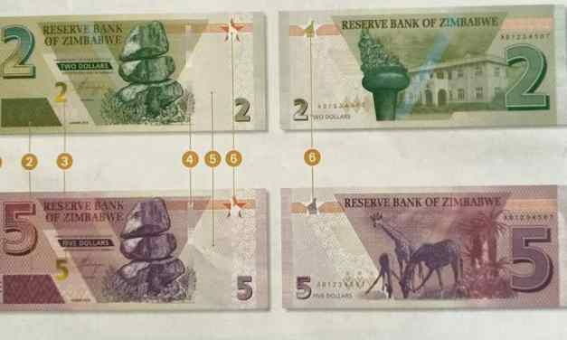 PICTURES: Zim new currency…Banknotes look like bond note?