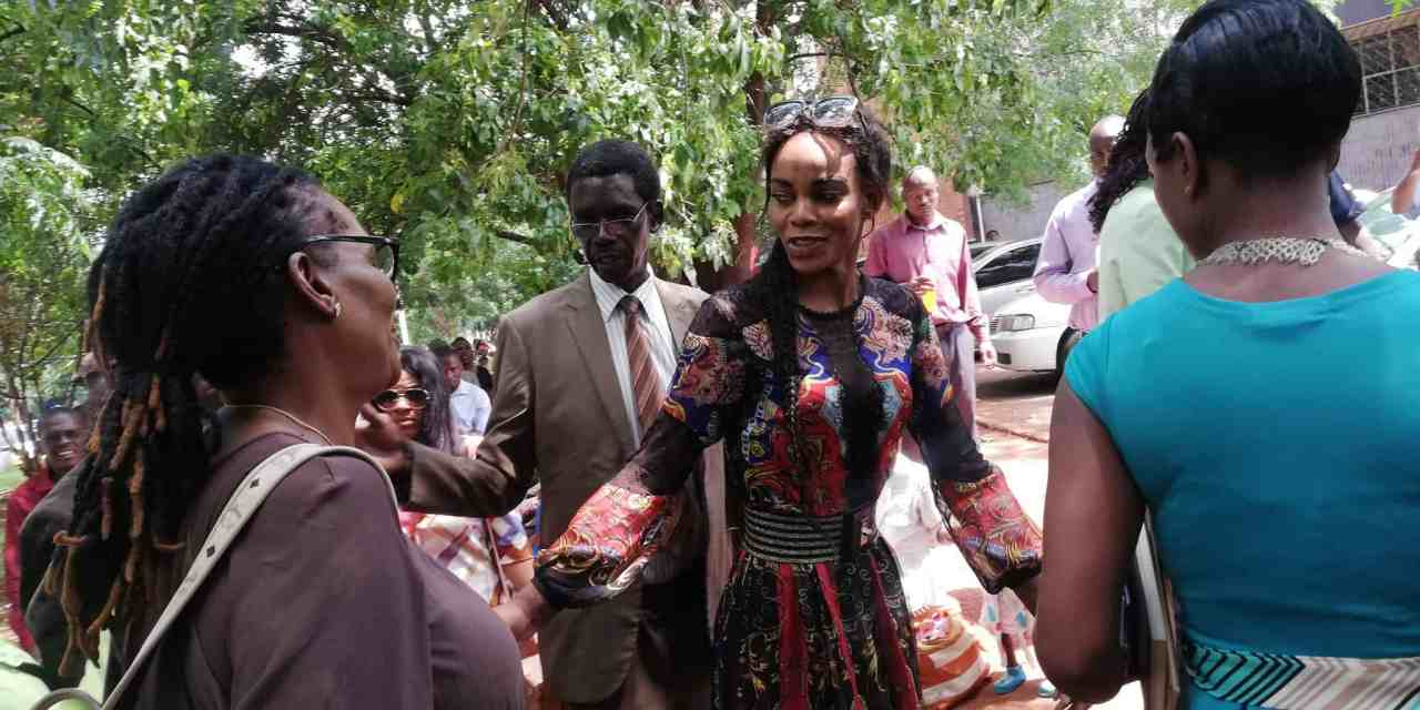 Zimbabwes Vice Presidents wife arrested while naked and