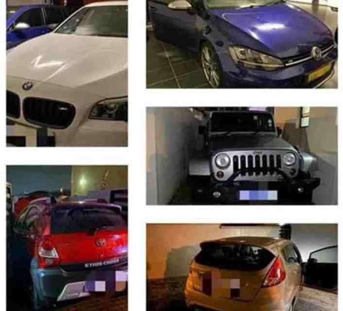 SA cops recover stolen cars hidden at residential home