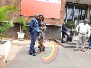 LATEST PICTURES: Marry Chiwenga back in court..Countersues over abducted children
