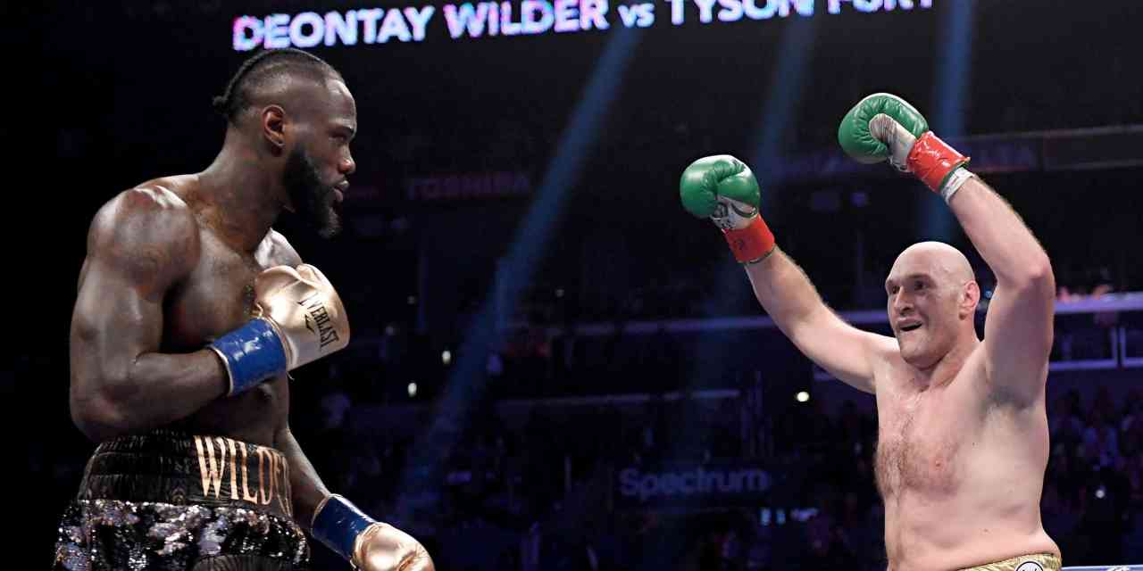 Furious Tyson Fury dominated Deontay Wilder in their rematch… VIDEO