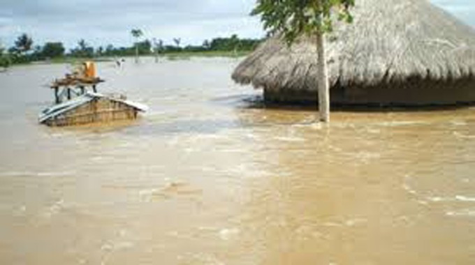 BINGA FLOODS: 1 elderly villager dies, 34 families rescued