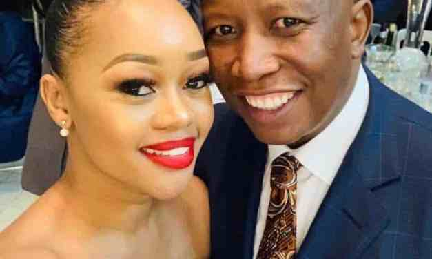 Julius Malema's wife issues statement, Accepts Ramaphosa apology