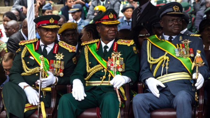 ED Mnangagwa leaving on Chris Mutsvangwa brokered military deal-REPORT