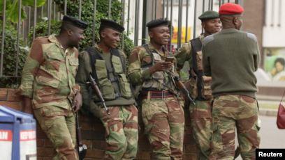Lockdown: ED Mnangagwa's Dreaded Military Enters Stage