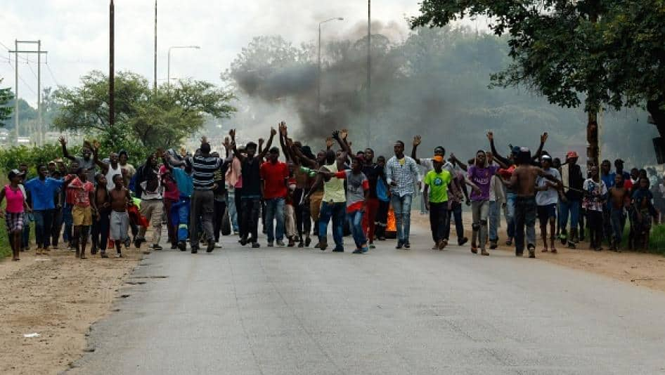 Mass Protests Over missing 3 MDC Officials Imminent