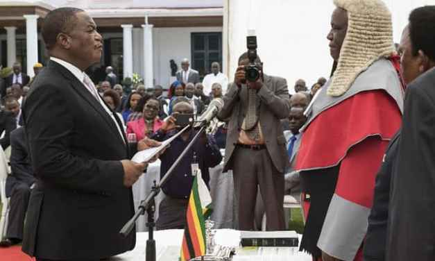 General Chiwenga To Serve Transitional Zim Presidential Term, Mnangagwa Asked To Resign?