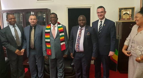 ZBC worker suspended for leaking Mnangagwa-Delish Nguwaya meeting video
