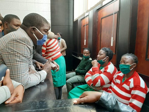 Mamombe, Chimbiri fondled by police during arrest, court told