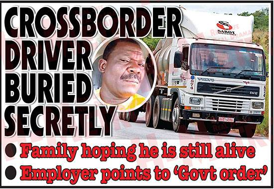 DRC Gvt secretly buries Zim truck driver few hours after he dies of covid-19