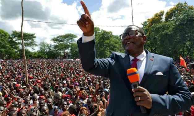 MALAWI: Coronavirus Surge Dampens Lazarus Chakwera's Election Cheer