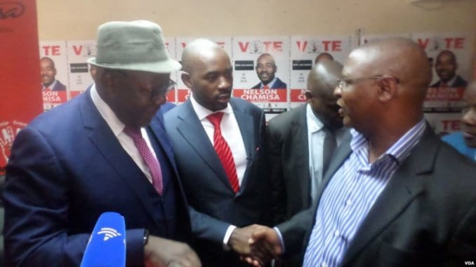 LATEST NEWS: Grieving  Chamisa passes button to Welshman Ncube