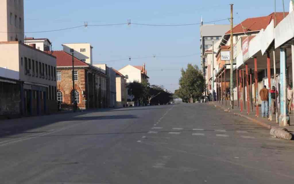 31 July UPDATE: Harare, Bulawayo streets empty! PICTURES