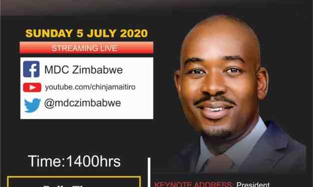 Chamisa's e-Rally set for Sunday as Pressure mounts on Mnangagwa