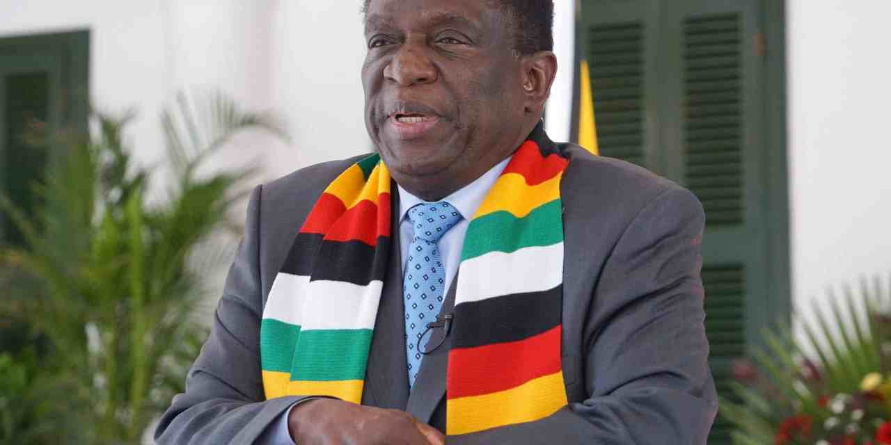 President Mnangagwa makes ministerial reassignment
