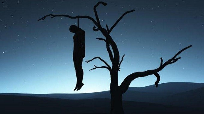 DETE: 'Tired' Man Hangs Self Over Abusive Wife