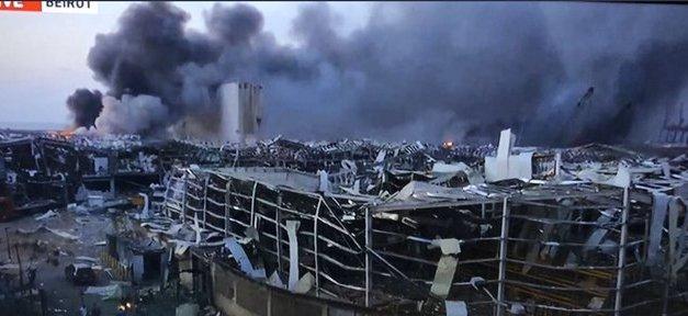 VIDEO, IMAGES: Massive explosions shake Lebanon's capital Beirut