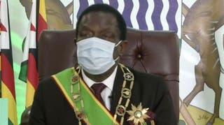 Mnangagwa attends 34th ordinary session of the AU