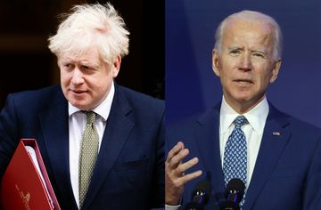 US President-elect Biden makes first phone call to Johnson… Warns of Brexit Upset to Northern Irish Peace
