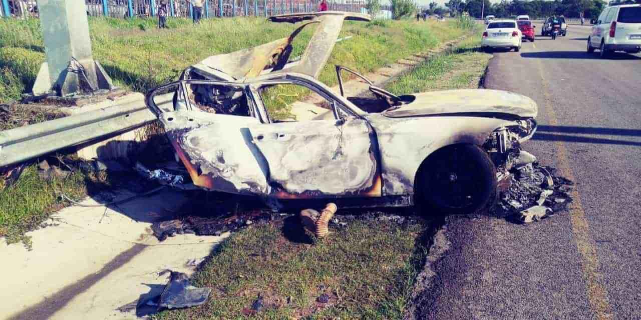 South Africa: Mamelodi Sundowns defender Motjeka Madisha killed in car accident..photos