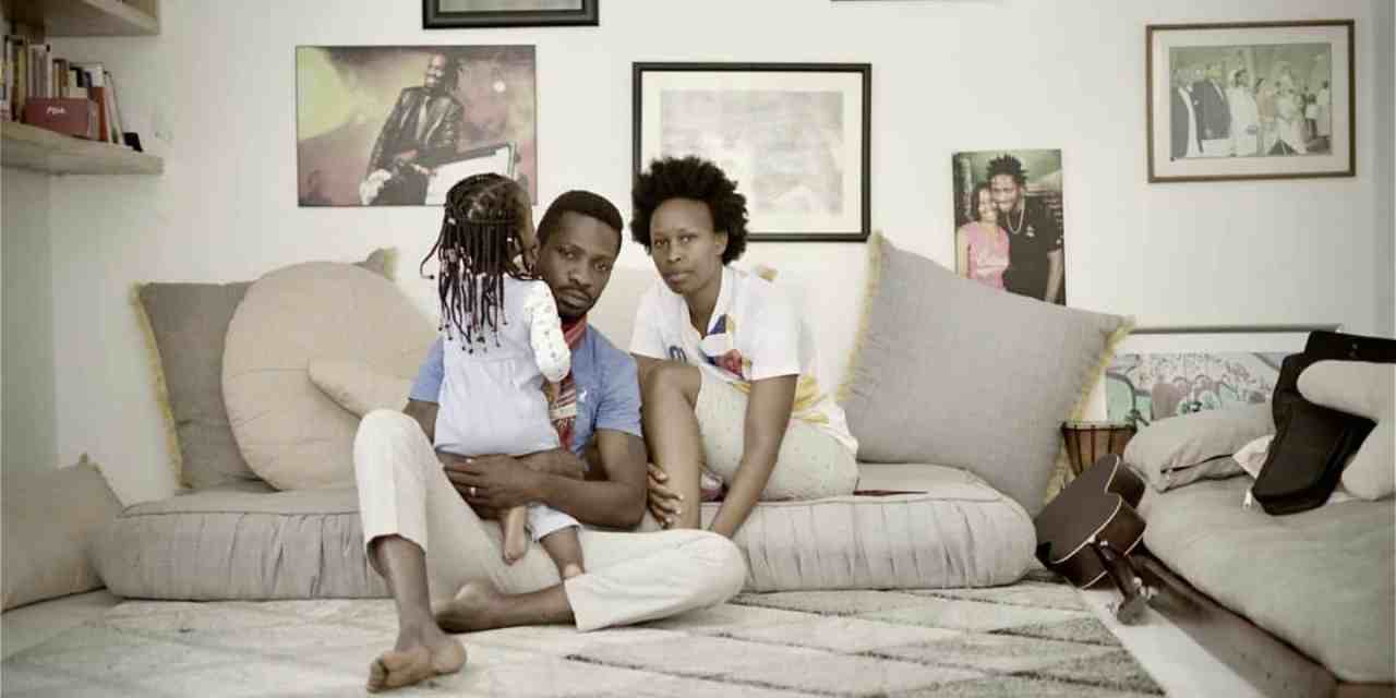 Bobi Wine stuck under house arrest with a baby, runs out of food/ milk