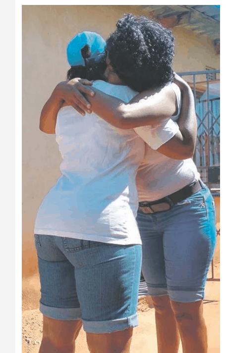 Sipho Njomane Twins Thembi and Thembisile Ndlovu (37) from Edenpark, Ekurhuleni