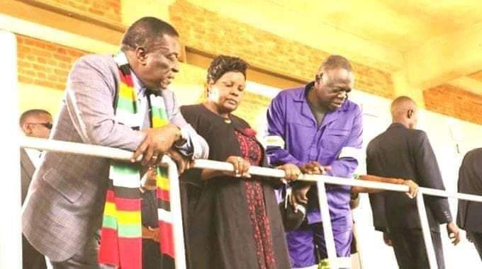 PICTURES: Mnangagwa mourns as second govt minister dies