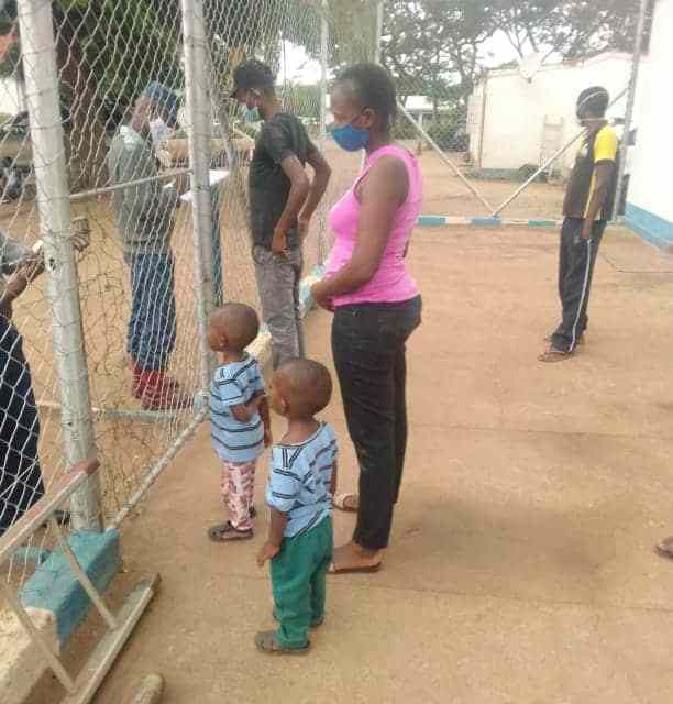 JUST IN: ..this should not happen again…Police speak on a mother detained with kids