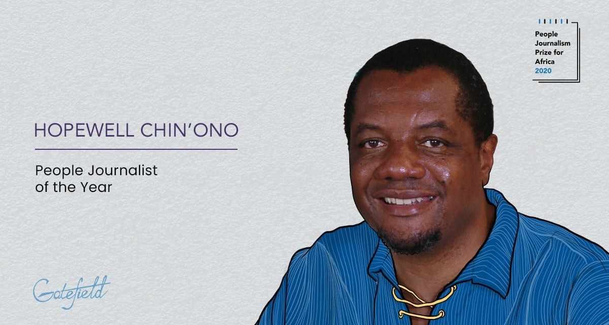 Chin'ono pledges to give PJPA prize money to Murewa Hospital