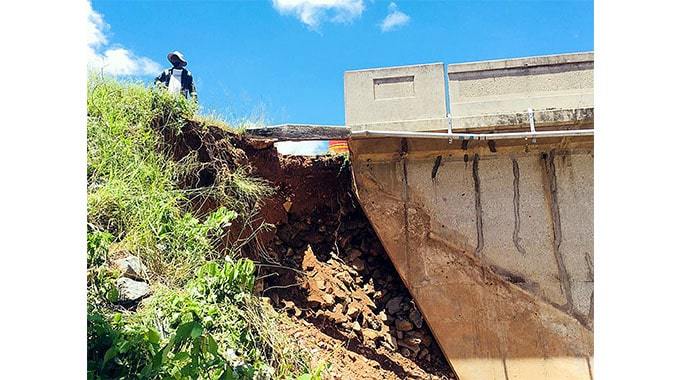 PICTURES: Repairs at Mbembesi River Bridge begin, expected to reopen next week