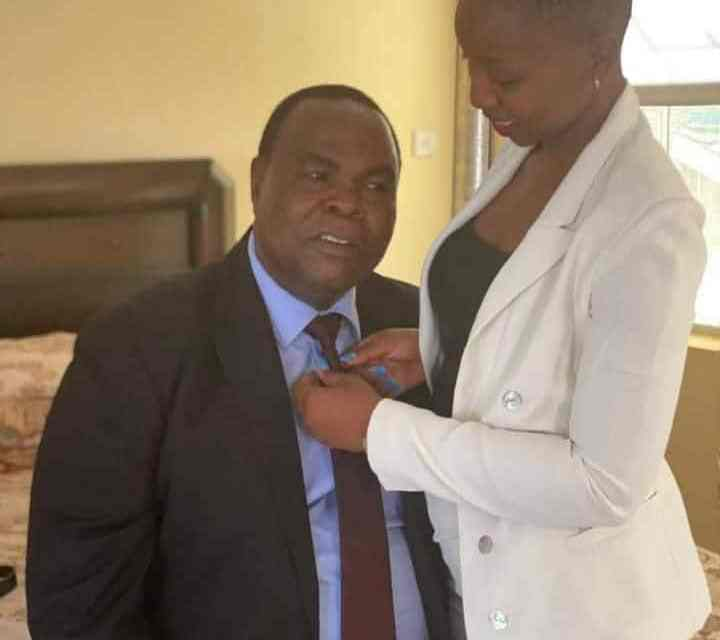Susan Mutami's SB Moyo child..Mining Minister-Gvt Officials Affairs, Bedroom PICTURE with Musanhi