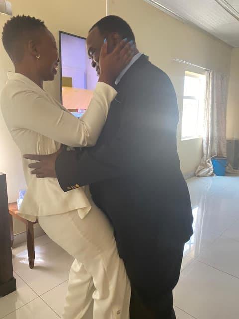 "Susan Mutami, Kenneth Musanhi ""Zanu PF Politburo MP""  bedroom romance pictures break internet"