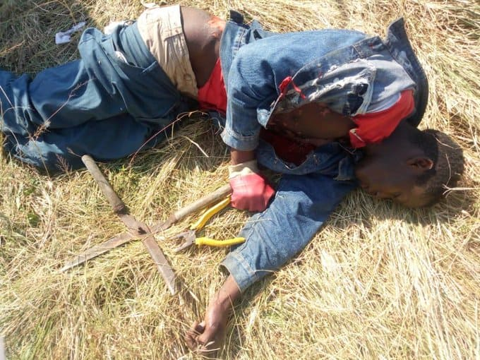 …PICTURES…Man battles for life after being burnt trying to vandalise a high voltage transformer