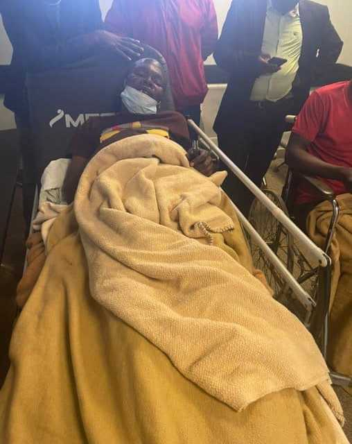 …PICTURES…Magistrate convenes bedside court session at Parirenyatwa