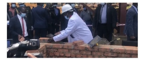Mnangagwa conducts ground-breaking for Ubert Angel's mega hotel, biggest conference centre in Zim