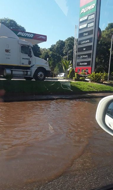 Harare continues to lose treated water through pipe bursts, leaks
