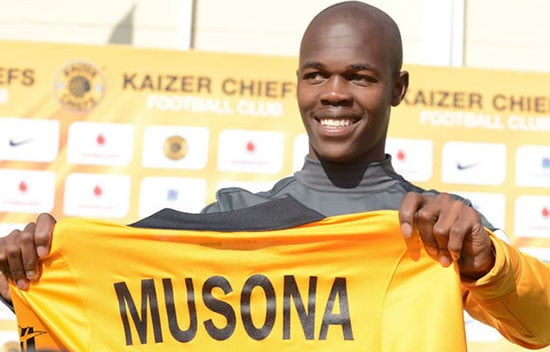 Kaizer Chiefs to sign Knowledge Musona?