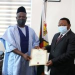 New Nigerian Ambassador to Zimbabwe 'presents' credentials to President Mnangagwa