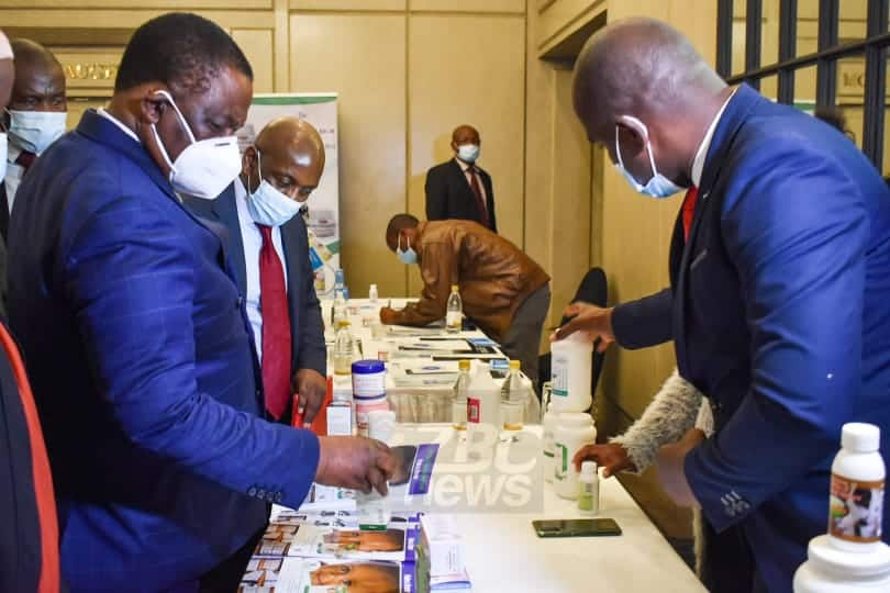 VP Chiwenga launches pharmaceutical strategy, Zim manufacturing on 12% of medicines