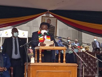 …PICTURES…President Mnangagwa buries first ever cleric to lie at National Heroes Acre