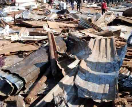 …PICTURES… Council resumes demolitions in Mbare