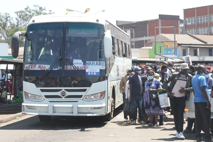 Harare To Chitungwiza, Norton To Harare, Intercity Travel Banned By Govt