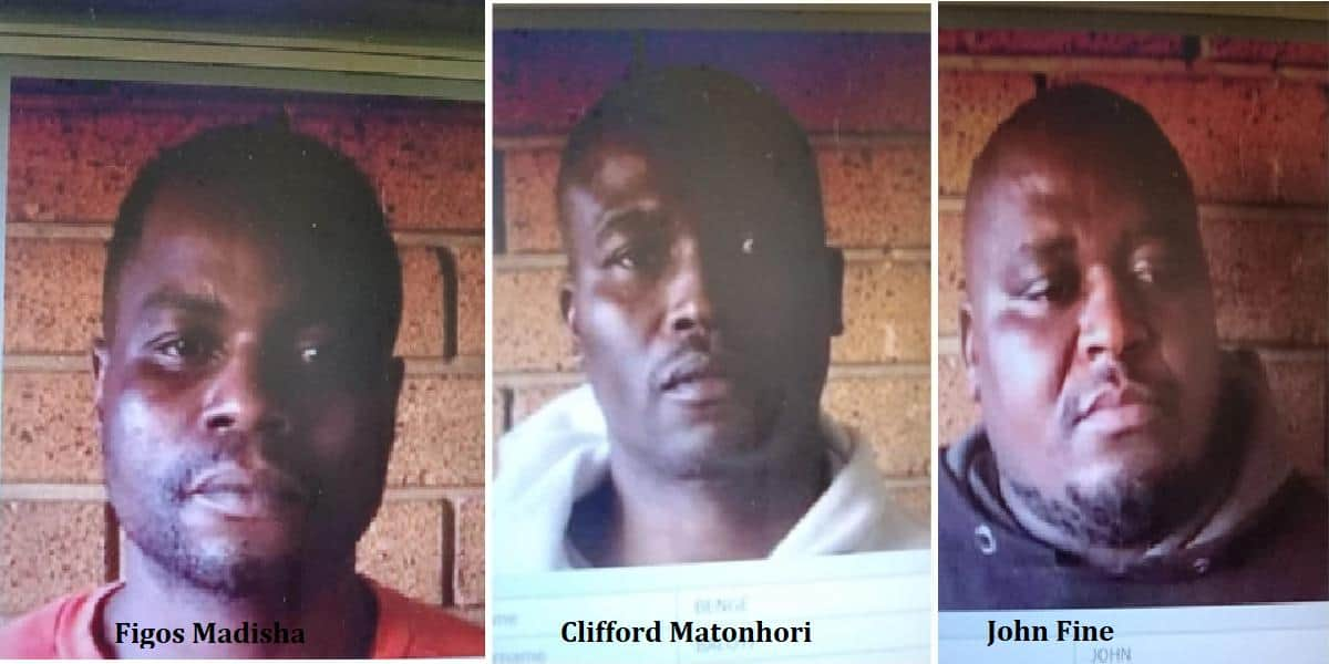 3 Zim armed robbers escape South Africa prison