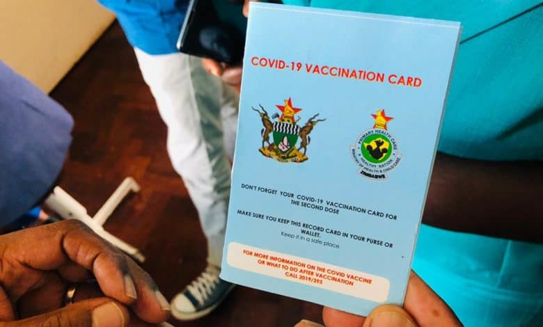 Nurse, accomplice nabbed for selling COVID-19 vaccination cards to unvaccinated persons