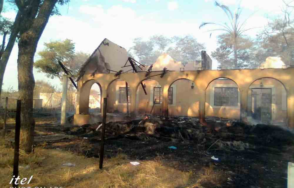 CHIKOMBA: Teachers left counting losses after Inferno guts down cottages