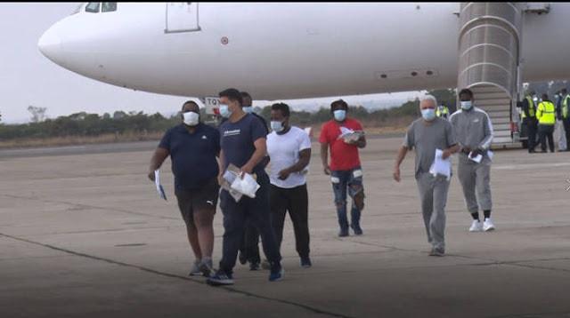 PICTURES:  Zimbabwean men deported from UK now 'homeless beggars, living in fear of authorities'